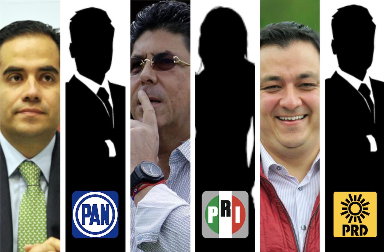 Ellos son los precandidatos a diputados federales por el PRI Veracruz