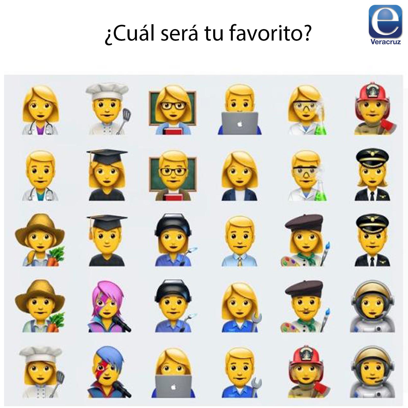Llegaron los nuevos emojis a Wathsapp