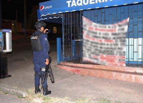 Cártel se adjudica asesinato de empresaria de Coatzacoalcos