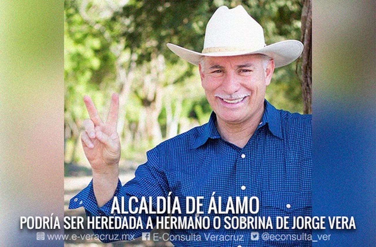 En Álamo, alcalde podría heredar cargo a hermano o sobrina