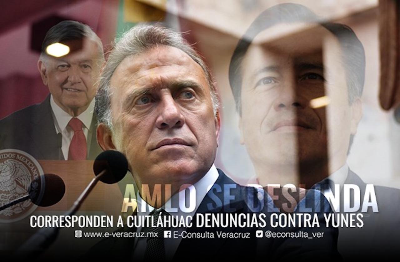 En manos de FGE y FGR al menos 10 denuncias contra Yunes Linares