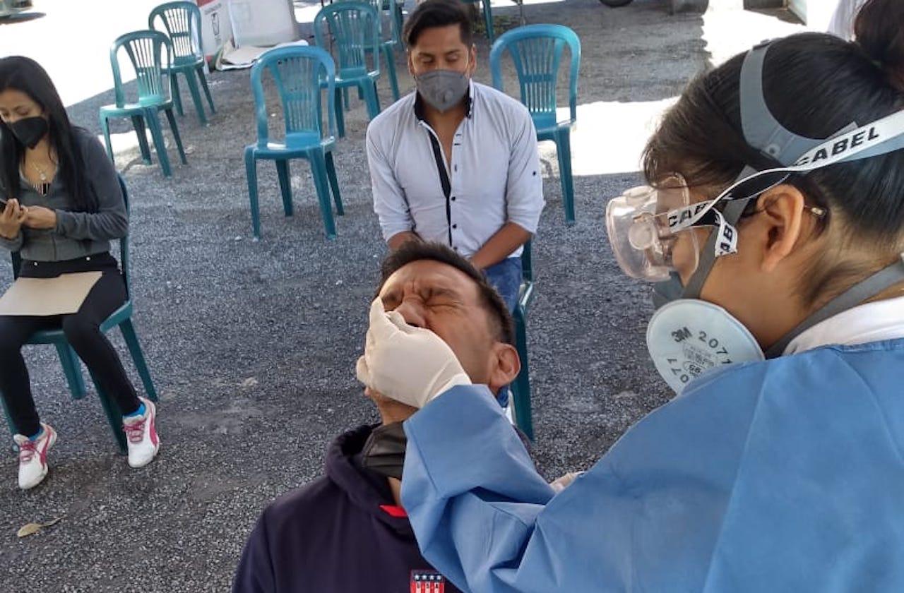 En Orizaba, detectan 40 casos covid a través de pruebas rápidas