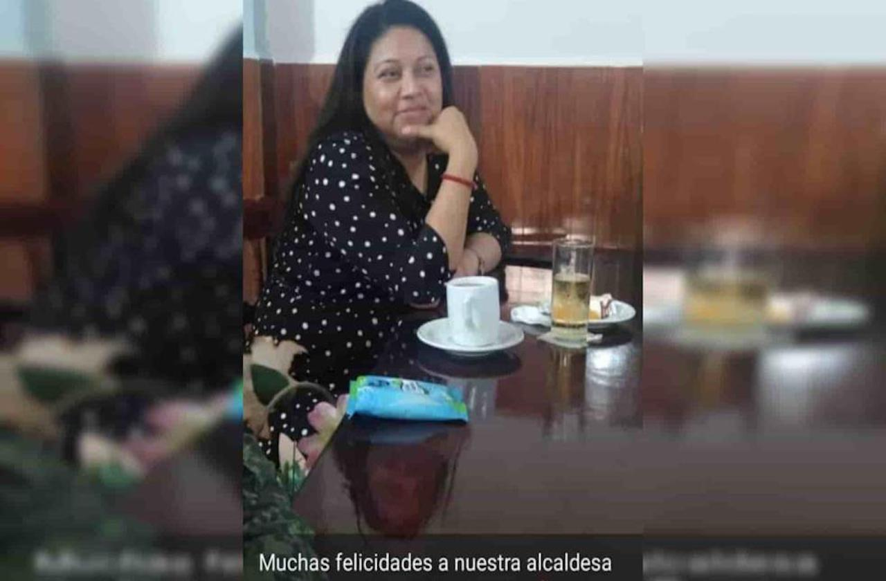 Aún con pandemia, Alcaldesa de Juchique organizó fiesta