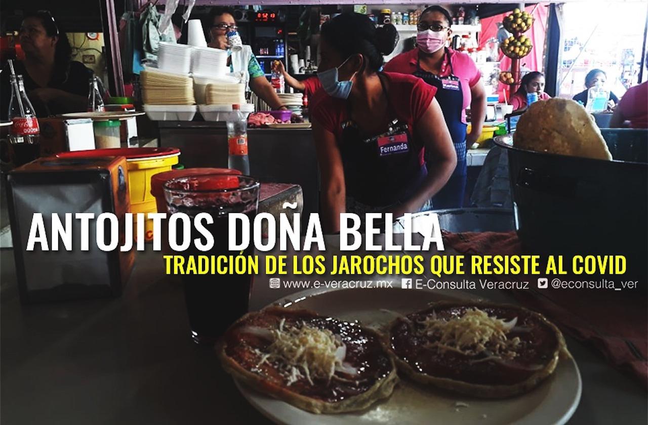 En pandemia, Antojitos Doña Bella resiste a crisis del covid