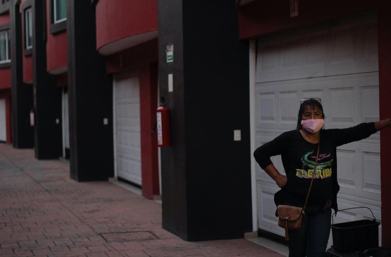 En pandemia, Araceli mantiene a su familia con 100 pesos diarios