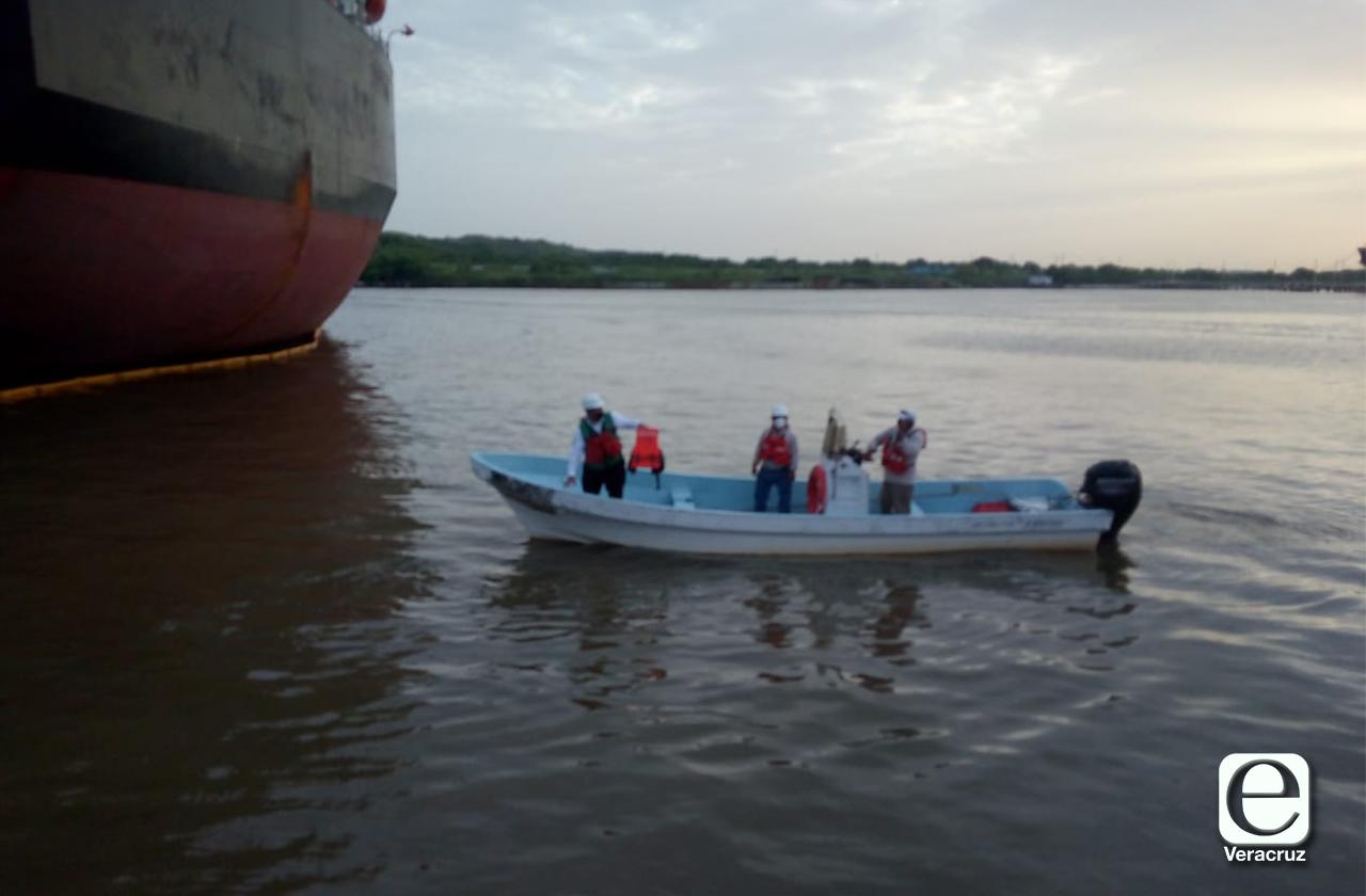 Localizan cuerpo de trabajador de Pemex ahogado en río Coatza