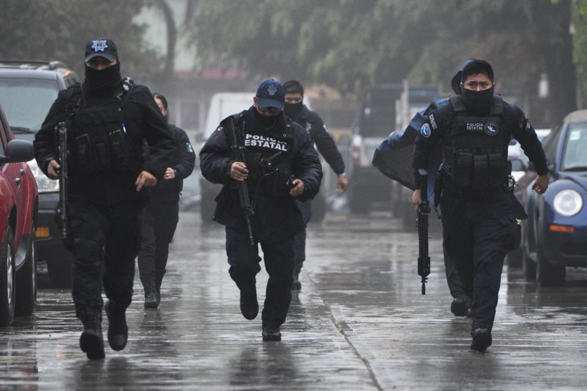 Detenidos en casa de seguridad de Xalapa, ligados al CJNG