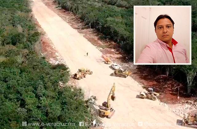 Enrique, veracruzano accidentado en obras del Tren Maya, está grave