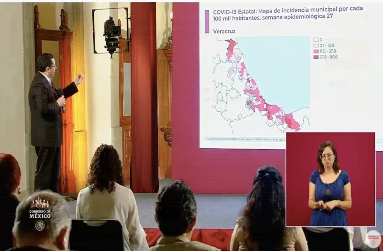 Epidemia de covid sigue activa en Veracruz: SSA