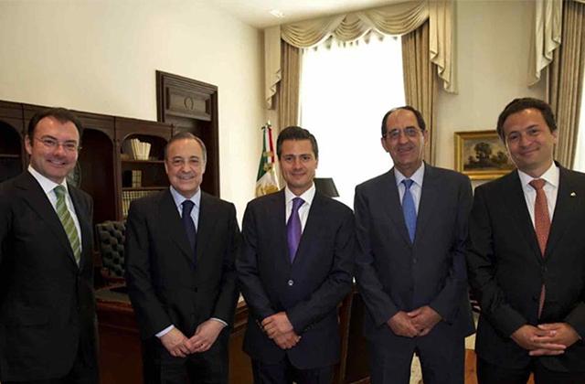 Ligan a directivo del Real Madrid y al Chicharito en caso Lozoya