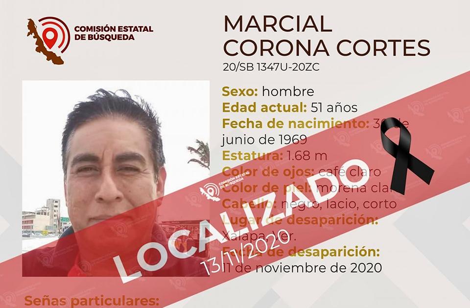 Taxista desaparecido es localizado sin vida, en Coatepec