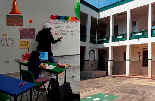 Escuelas privadas regresan a clases presenciales en el puerto