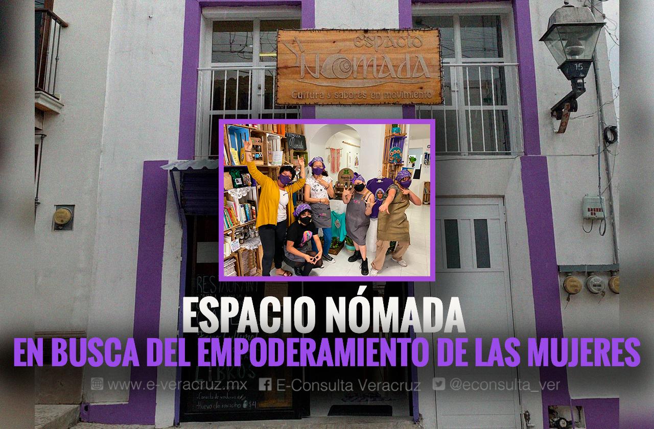 Espacio Nómada, restaurante que nació en Xalapa para emplear mujeres