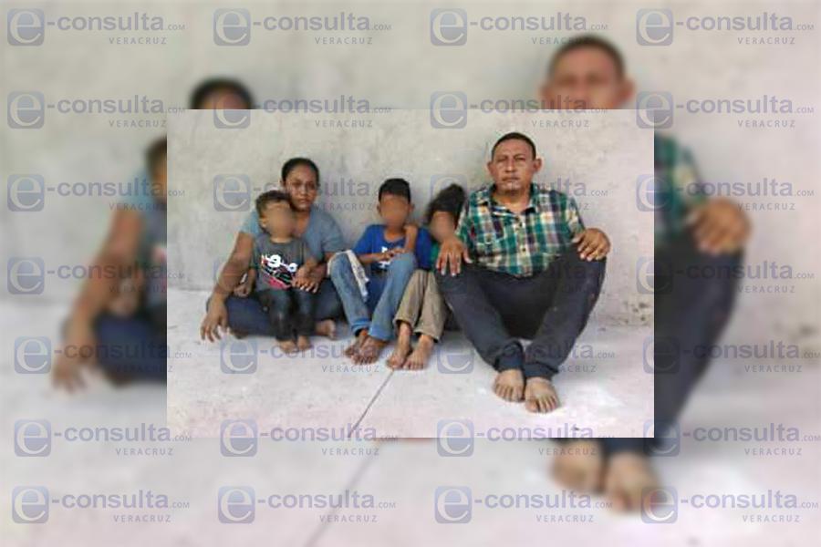 Confirman secuestro de familia hondureña en Coatzacoalcos