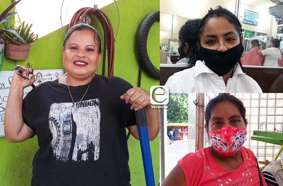 Mujeres jarochas que luchan contra precariedad laboral en pandemia