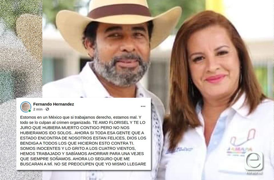 Ahora me buscarán a mí: esposo de Florisel Ríos, prófugo de la justicia