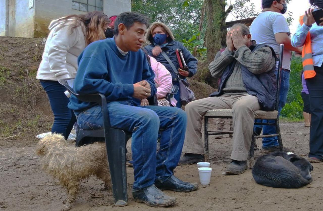 Los Moreno: familia sepultada en Xalapa que nadie evacuó