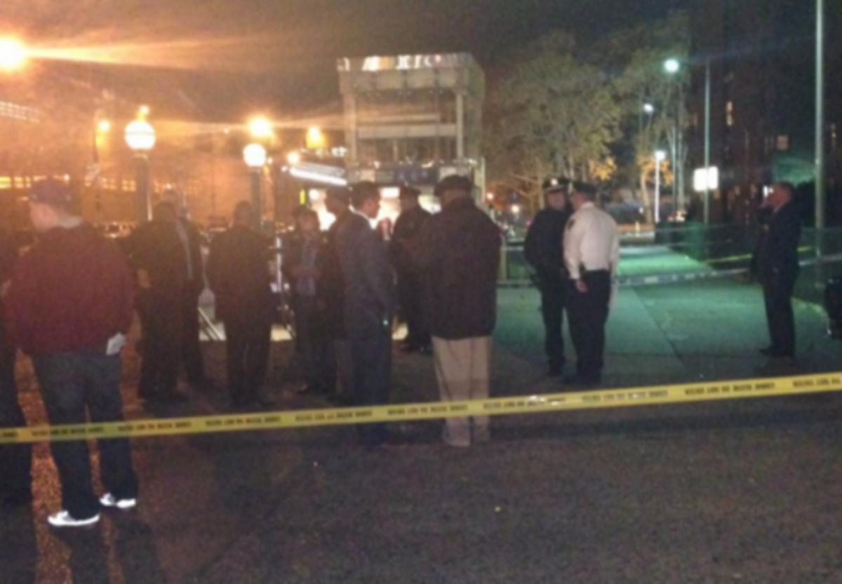 Se desata tiroteo en estación del Metro de Nueva York y lesionan a 2