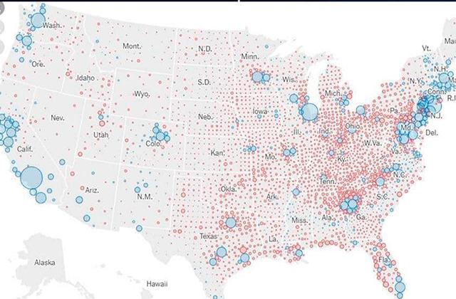 Estados claves que decidirán elecciones en Estados Unidos