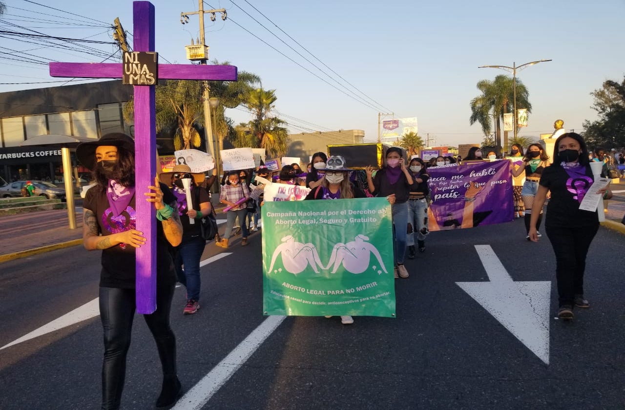 """""""Estamos enojadas por la violencia"""": mujeres en Orizaba"""