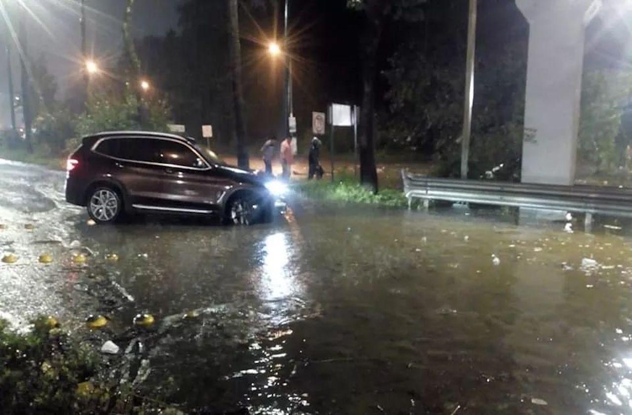 GALERÍA | Deslaves e inundaciones en Xalapa tras fuertes lluvias