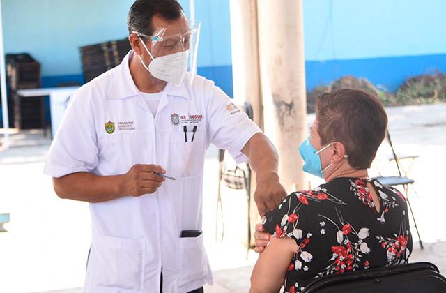 Este martes continua jornada de vacunación en Xalapa