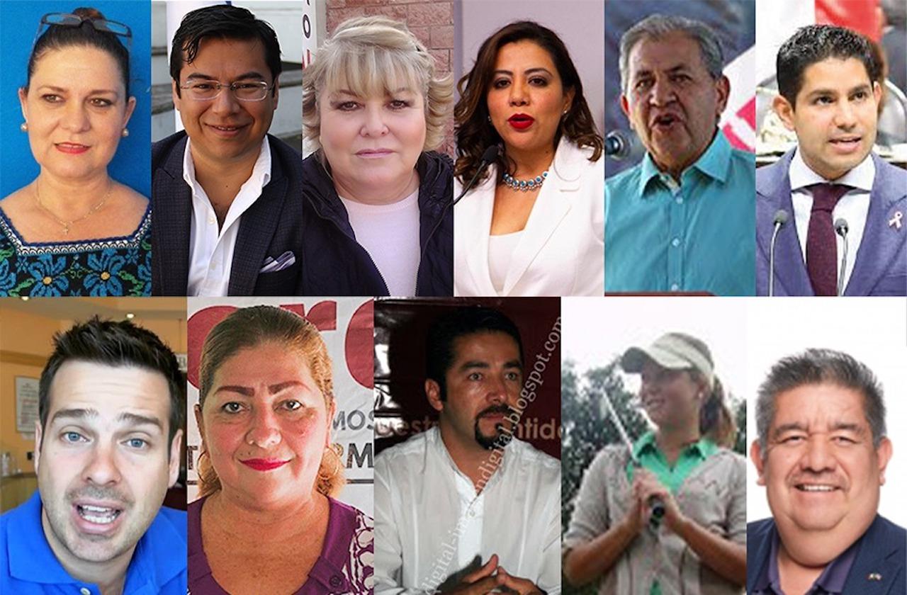 Estos 15 obtendrían una diputación federal sin hacer campaña