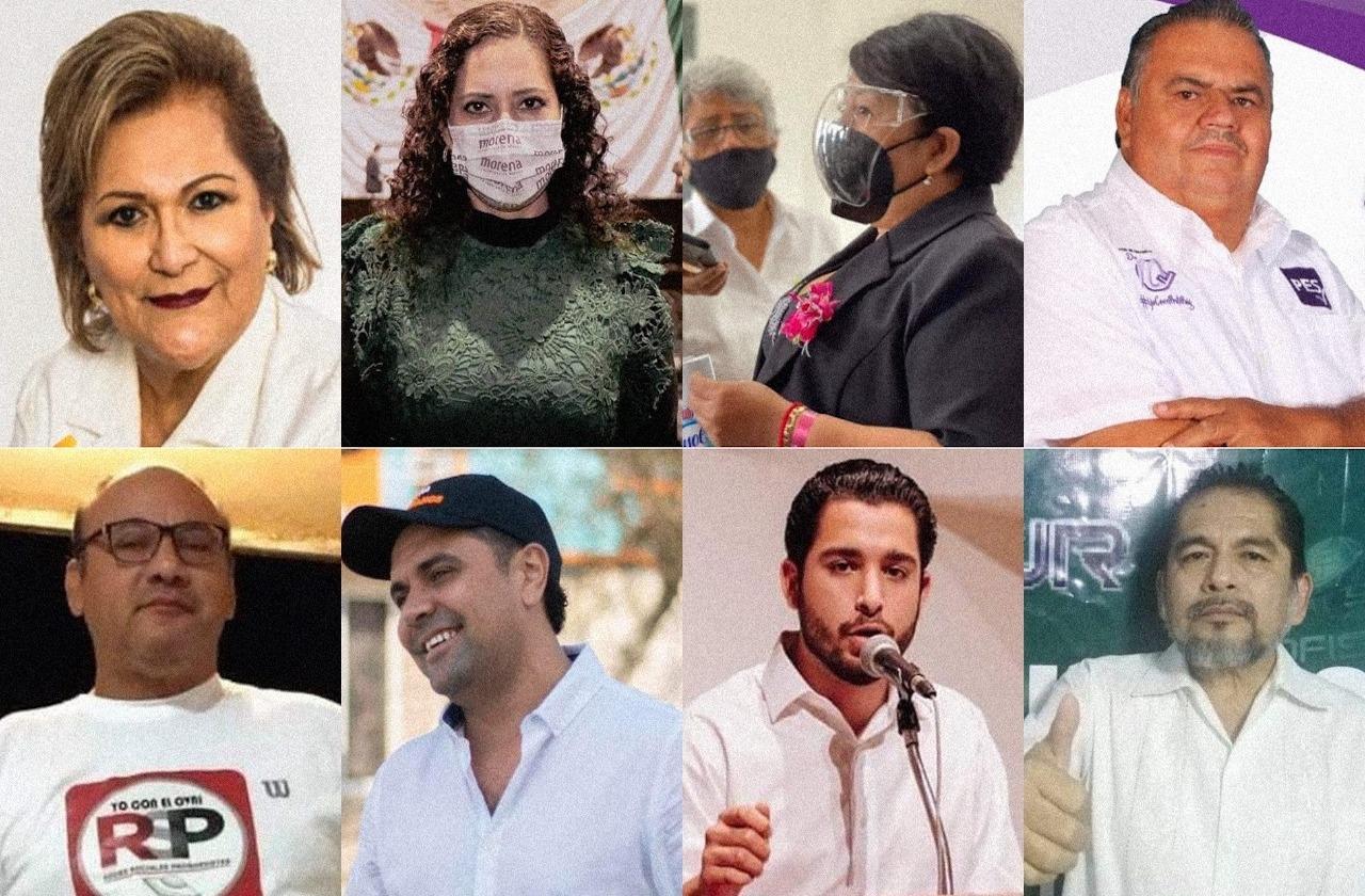 Estos 8 candidatos van por la diputación federal de Coatza