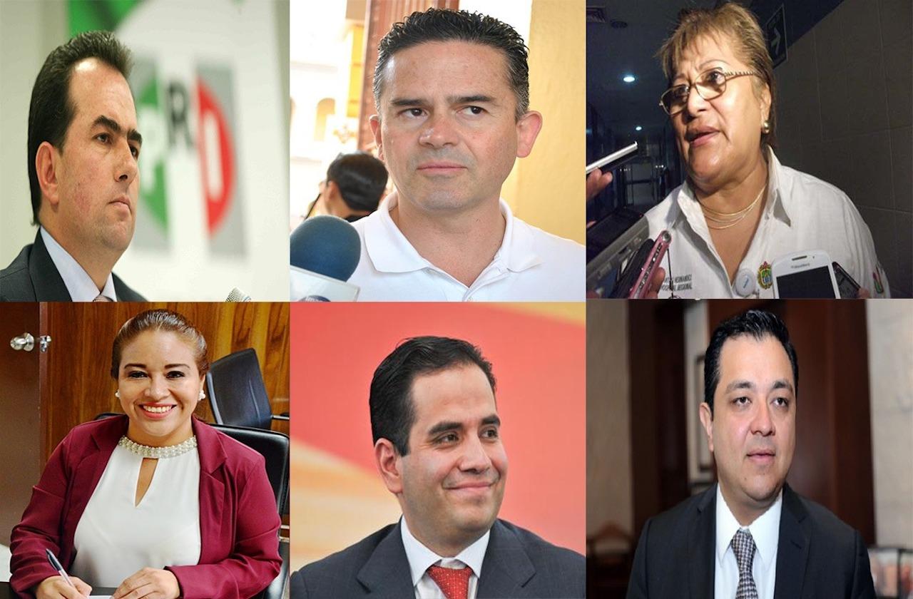 Estos son los 6 precandidatos a diputados federales del PRI