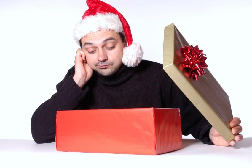 ¿Intercambio navideño de regalos? No le des esto a un hombre