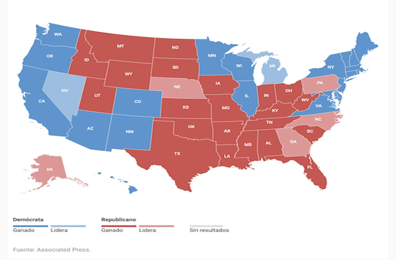 Biden se aproxima al triunfo sobre Trump tras ganar Michigan