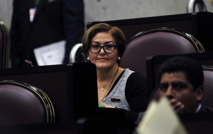 Eva Cadena no regresa a su curul en el Congreso de Veracruz
