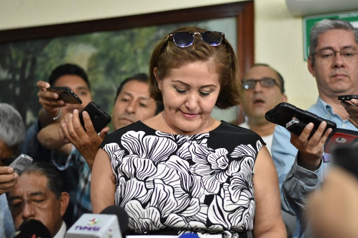 Eva Cadena denuncia ameaças contra ele em Veracruz