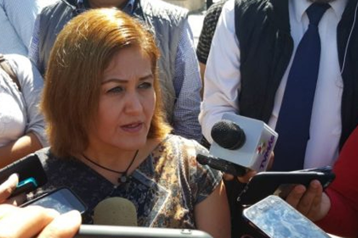 Eva Cadena interpone denuncia contra Rocío Nahle y Amado Cruz