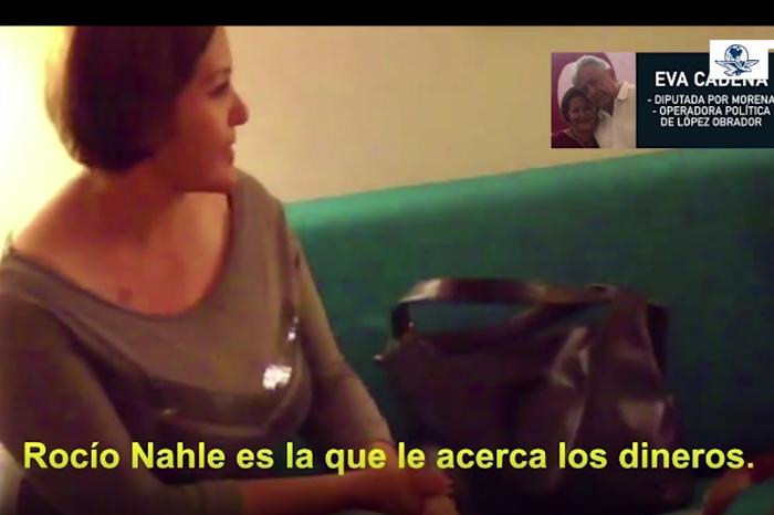 Denuncia Eva Cadena a Rocío Nahle y a El Universal por difamación