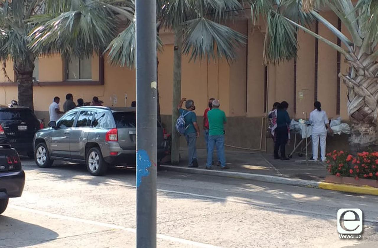 Evacuan hospital de Veracruz por conato de incendio
