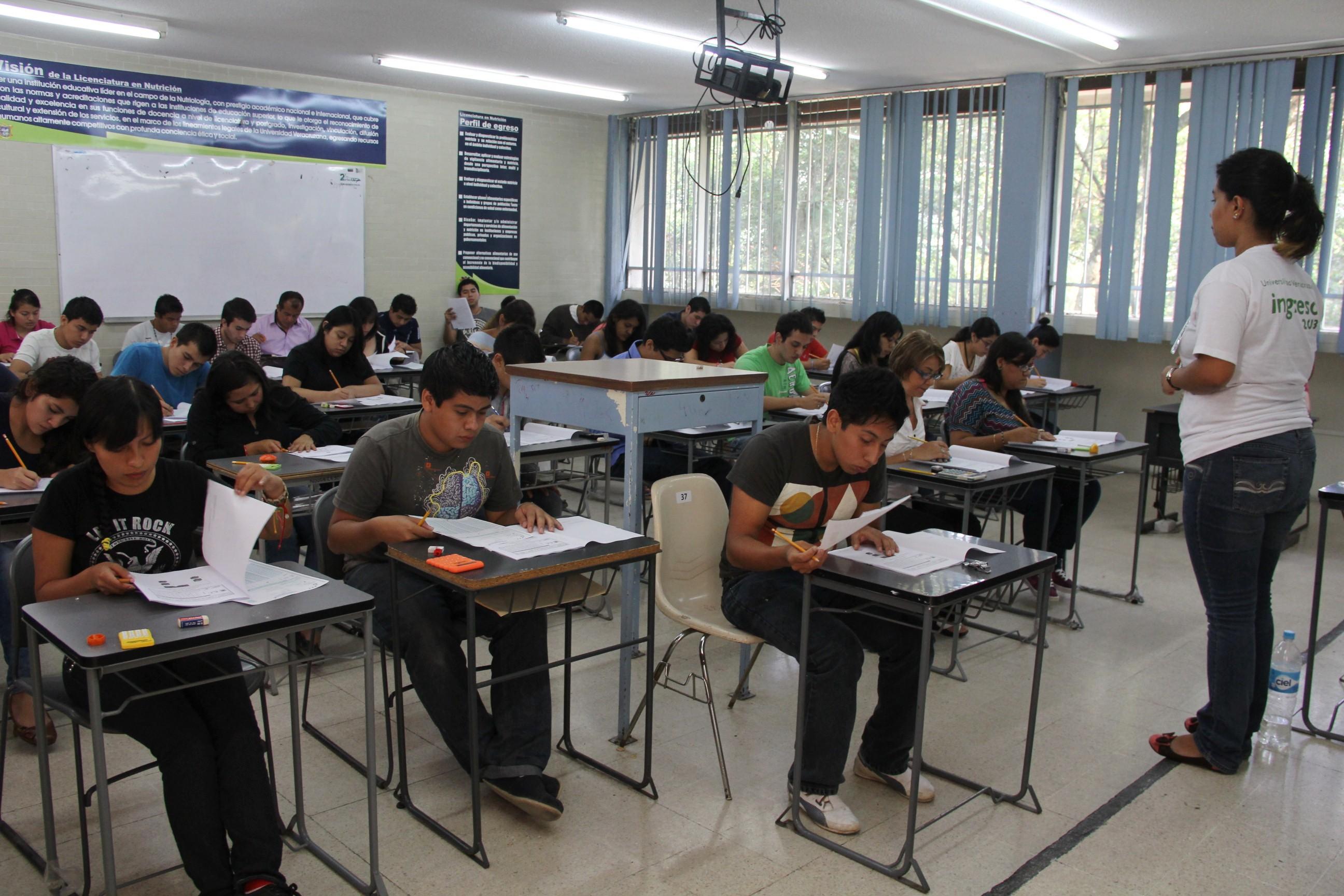 Más de 41 mil jóvenes presentarán examen de admisión UV