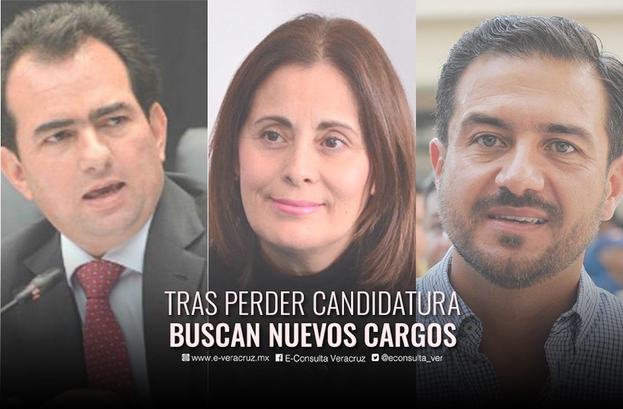 Excandidatos a la gubernatura del 2018 regresan por otro cargo