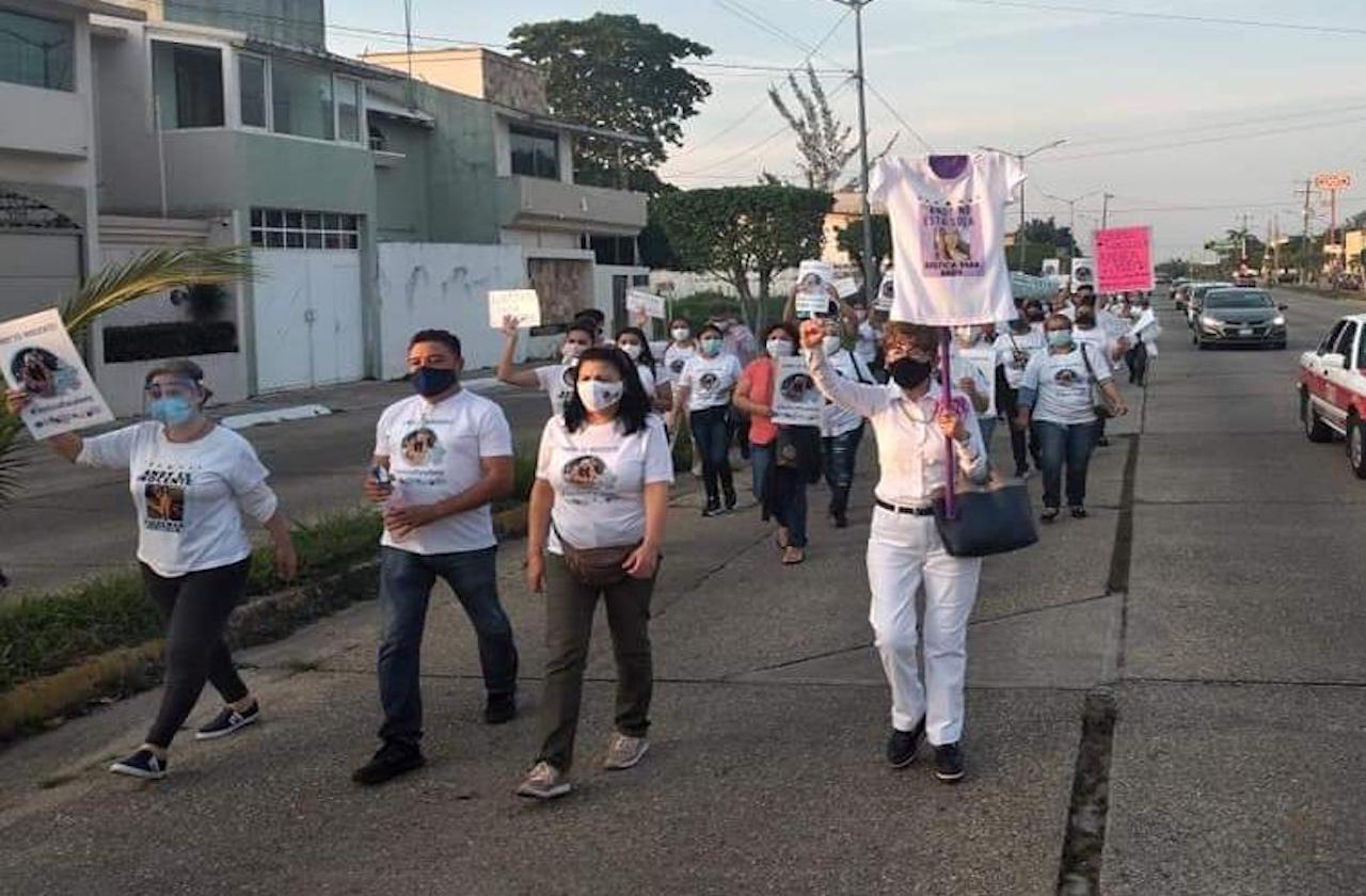 Exigen justicia para vinculada por feminicidio de Silvia Jazmín
