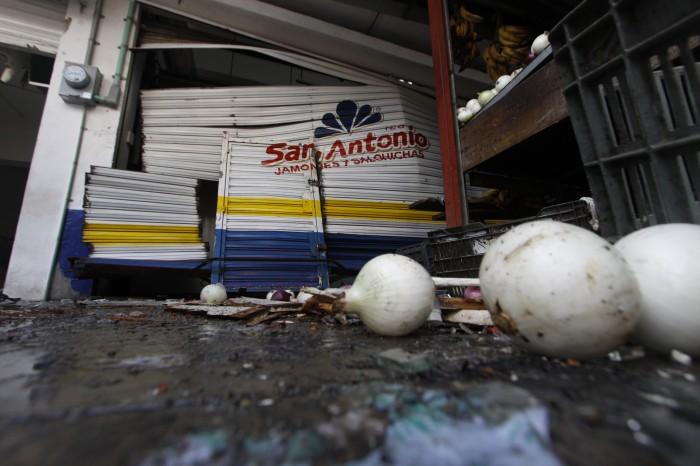 Reportan en estado crítico a heridos por explosión en zona de mercados