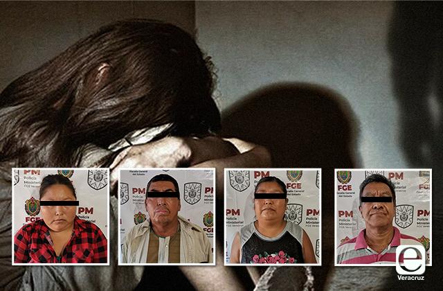 Detienen a familia que explotaba sexualmente a una niña