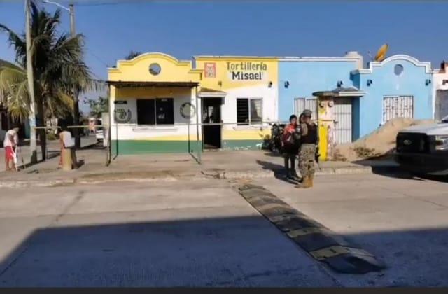 Balean a hombre en tortillería de Coatza; es reportado grave