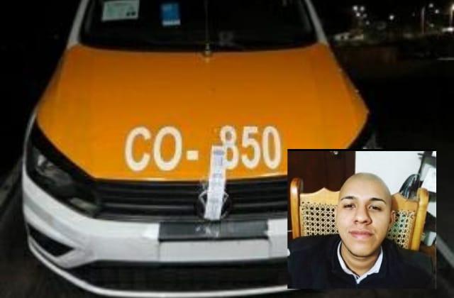 Hallan unidad de Ángel, taxista cordobés desaparecido