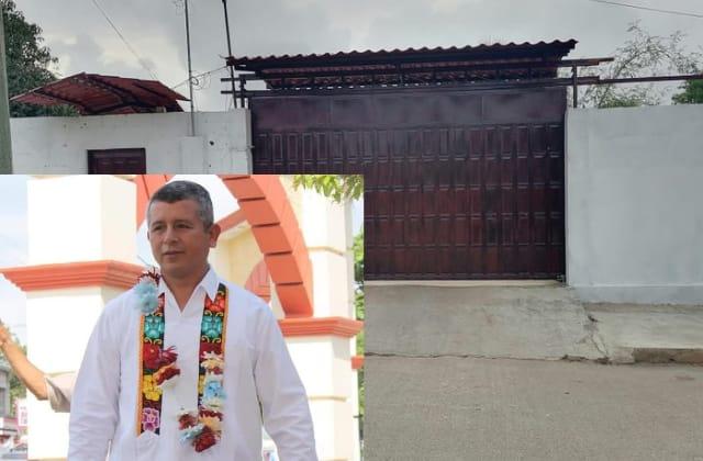 Sigue violencia política: atacan a balazos casa de alcalde de Chinameca