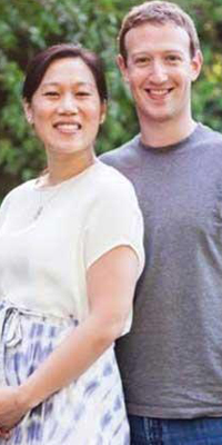 Anuncia Mark Zuckerberg que será padre de una niña
