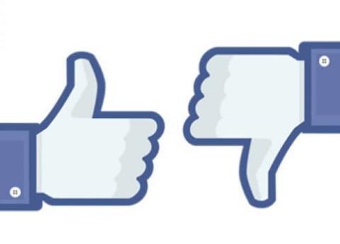 ¡Facebook prueba el botón No me gusta!