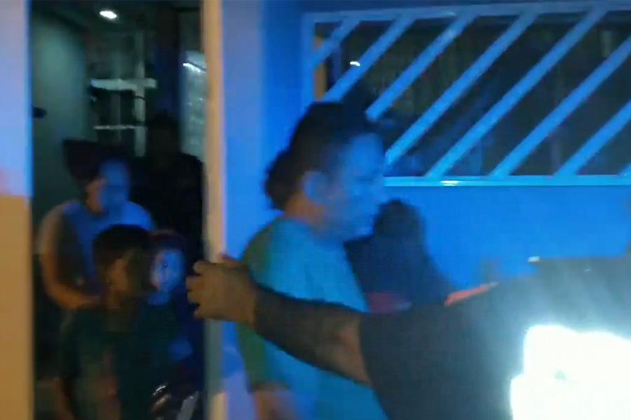 VIDEO | Liberan a familia hondureña, secuestrada en Veracruz