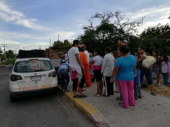 Apoya Teatro Prof a damnificados por sismo en Morelos