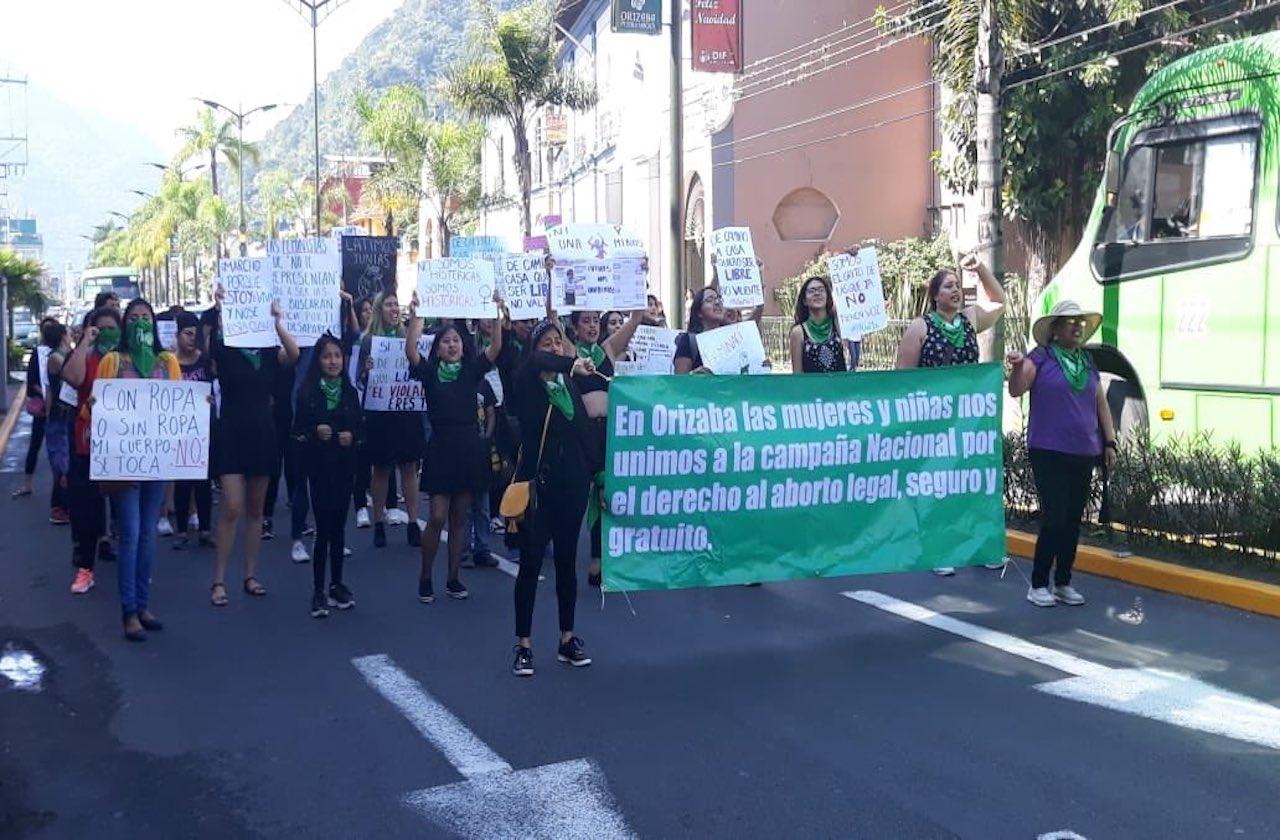 Feministas preparan protesta del 8M en Orizaba