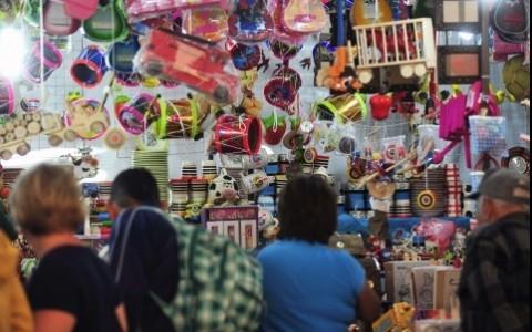 Caen las ventas en la feria del juguete de Xalapa